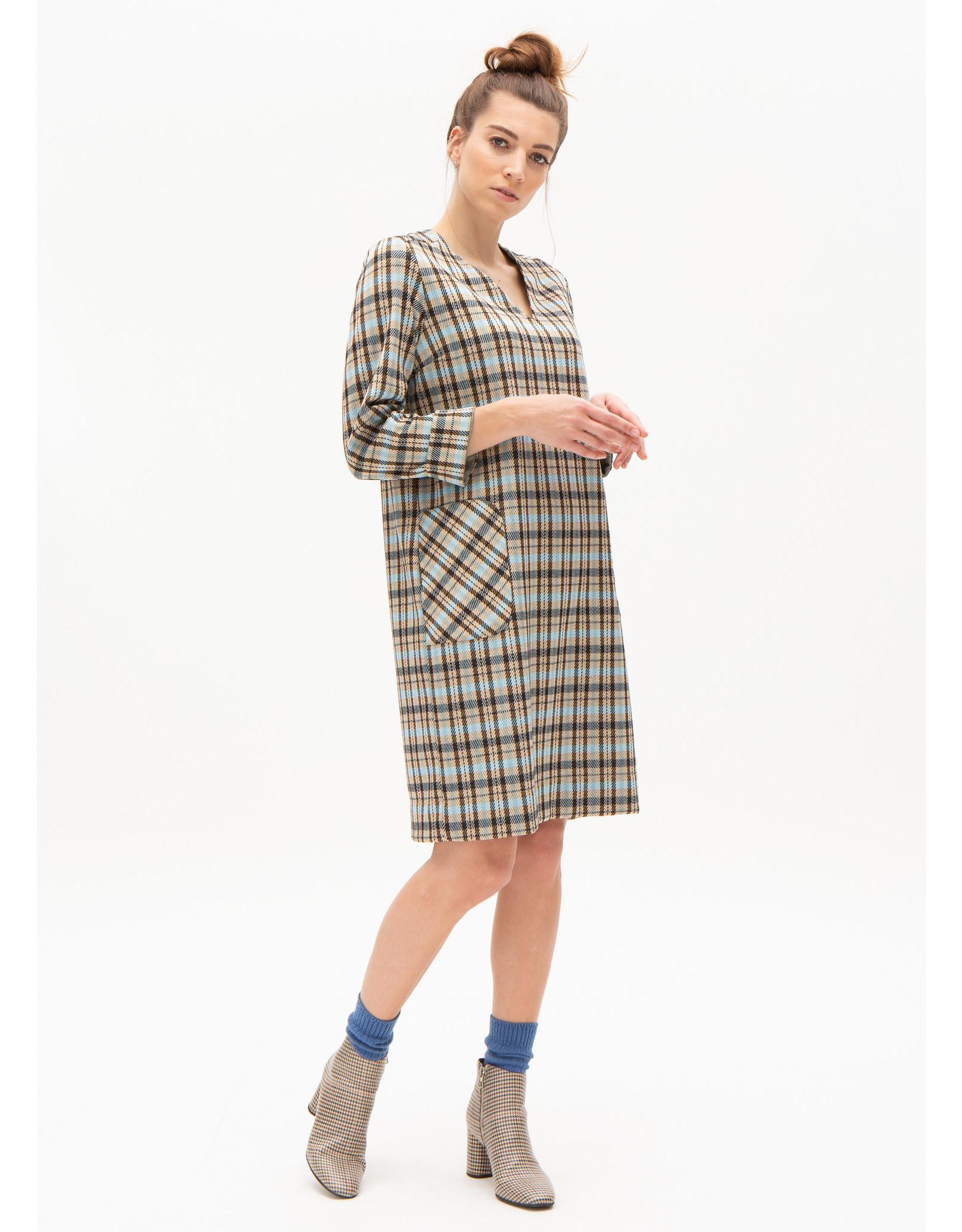 Nathalie  Vleeschouwer Kleedje Tafari Long Sleeves