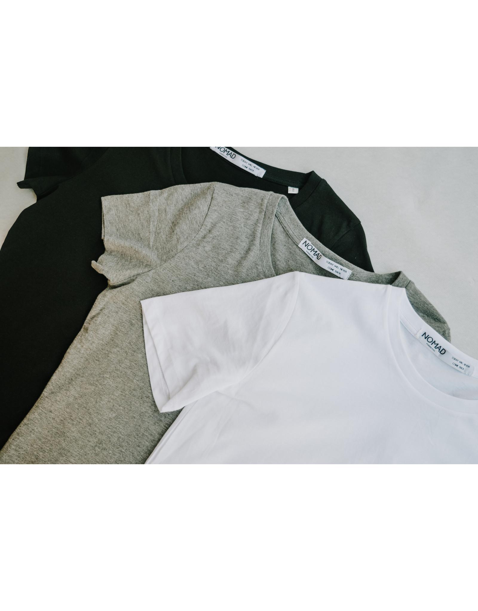 Nomad T-Shirt - Nomad, Wit / Grijs / Zwart