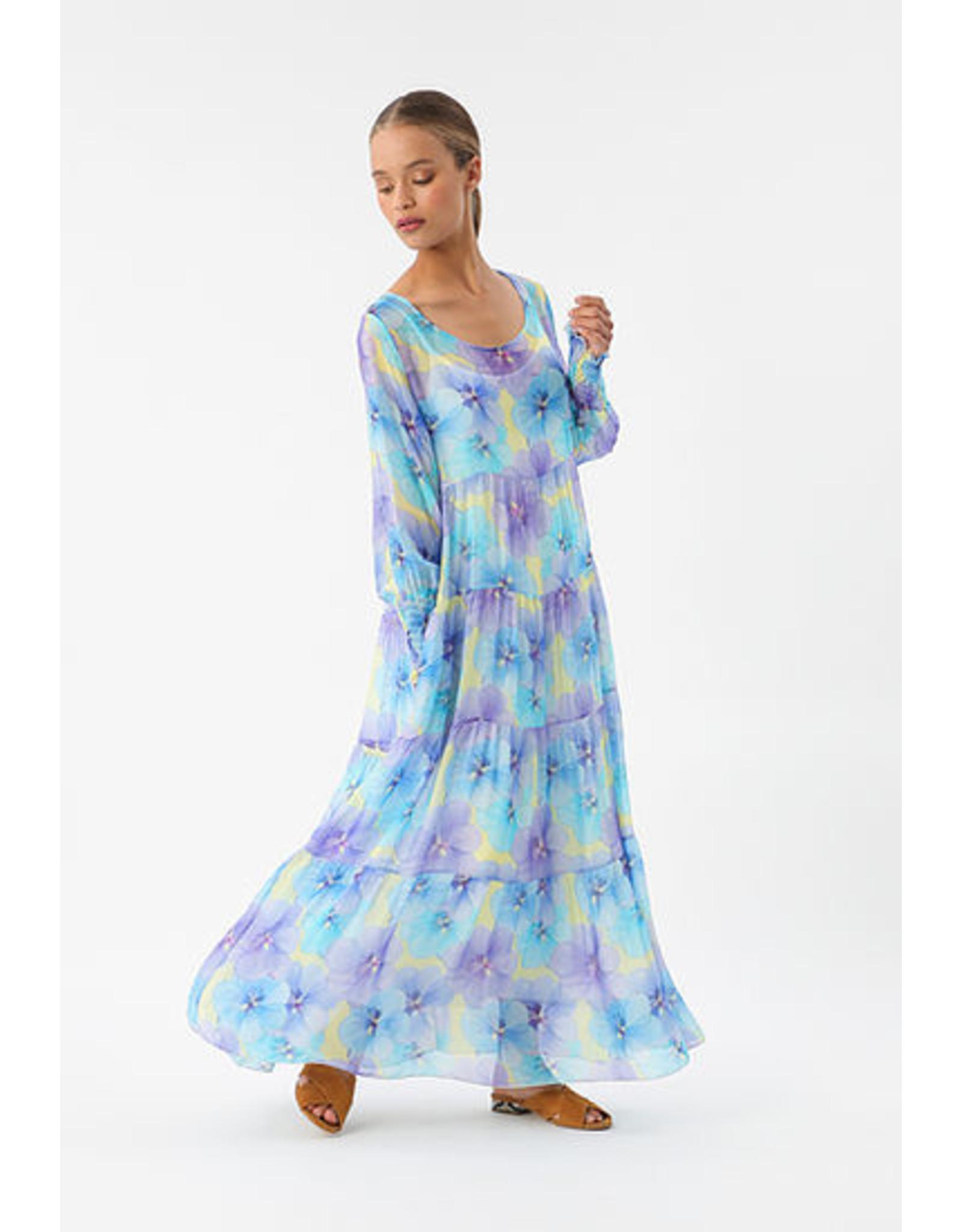 Imprévu jurk Painted Flower