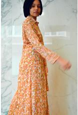 Miracles lange jurk met bloemen