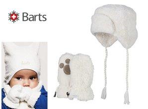 Barts babymuts en wantjes model Noa bomber & paws