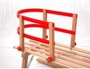 Gloco Rugleuning houten slee: kunststof leuning Davos