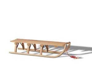 "Gloco Houten slee ""Davos Rodelset 110 cm"" - Copy"