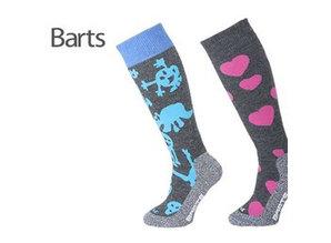 Kinder ski-sokken Aliens & Hearts