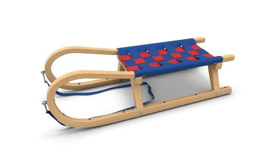 Kathrein houten slee 110cm