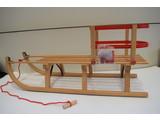 Sirch Houten Slee Davos met rugleuning 110 cm