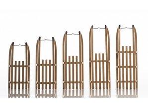Sirch trektouw houten slee
