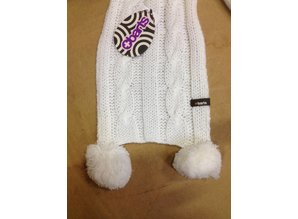 Barts Cable Scarf Kids merk Barts one size White