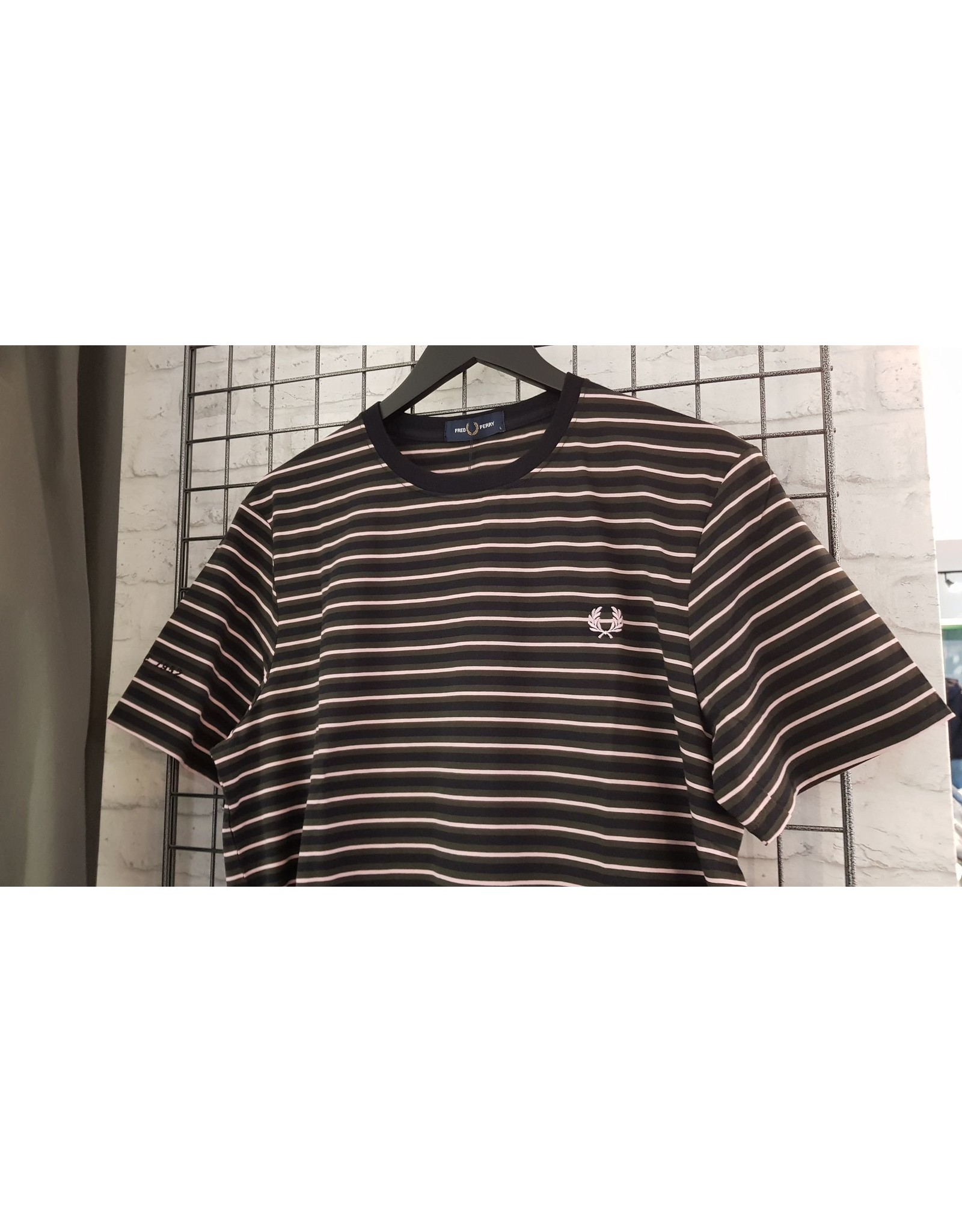 Fred perry T-shirt Fred Perry strepen