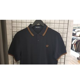 Fred perry Polo Fred Perry Navy/Caramel