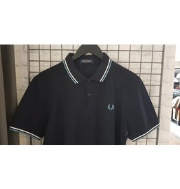 Fred perry Polo Fred Perry navy/white/smokeblue