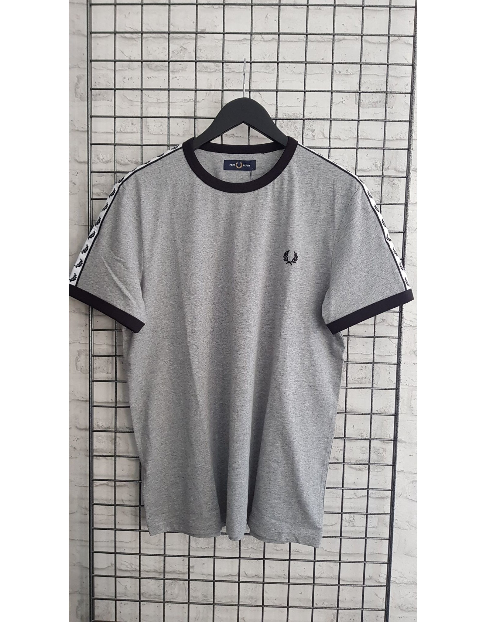 Fred perry T-shirt Fred Perry logo mouw
