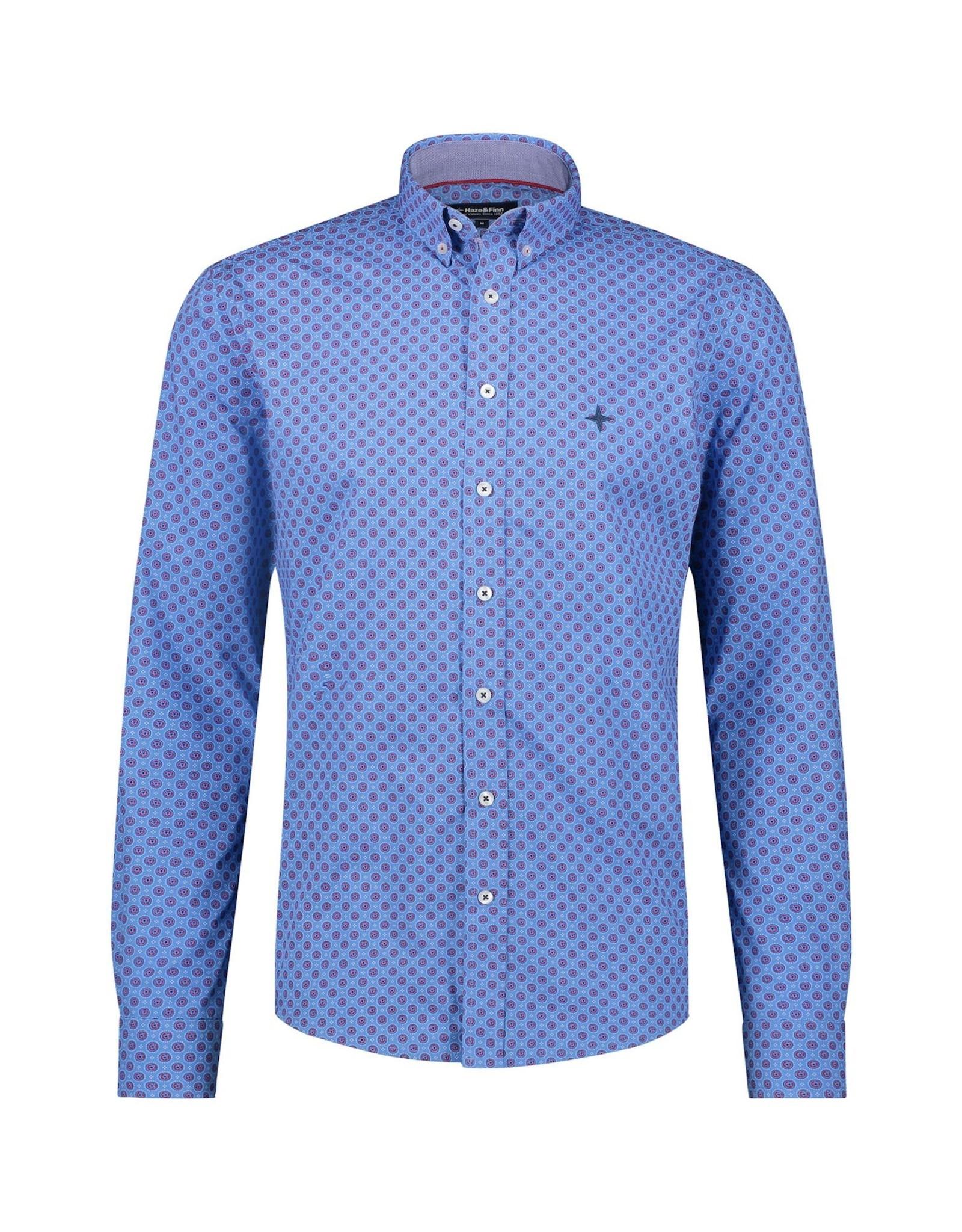 Haze&Finn Shirt cotton regular