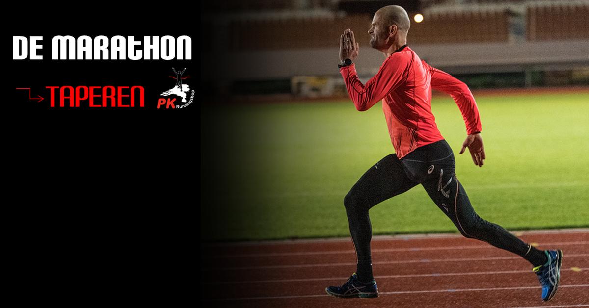 Marathonvoorbereiding - taperen!