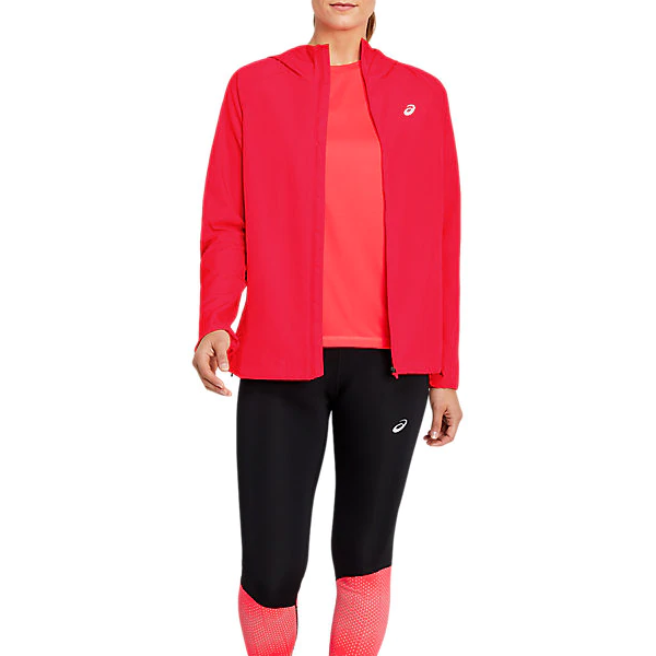 Asics Kleding Run Hood Jacket Dames