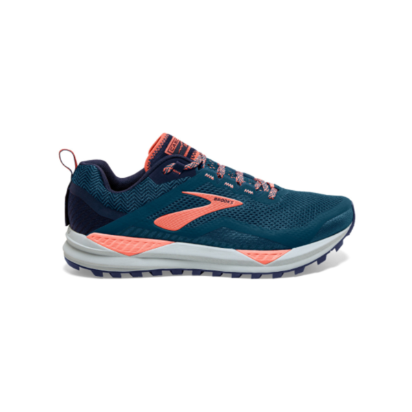 Brooks Cascadia 14 Dames 402 Blauw Navy