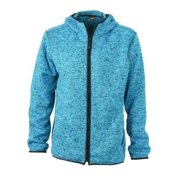 James And Nicholson Vest Hoody Knitted Fleece Dames