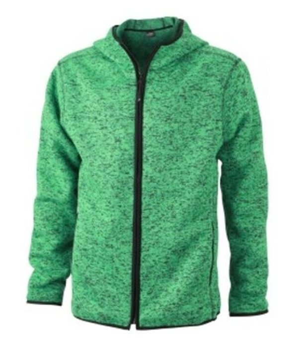 James and Nicholson James And Nicholson Jack Hoody Knitted Fleece Heren