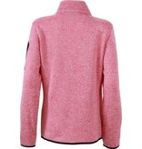 James and Nicholson James And Nicholson Vest Knitted Fleece Jack Dames