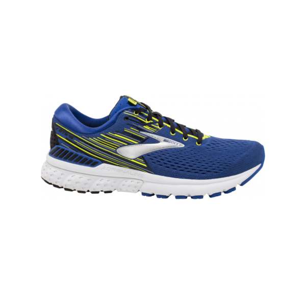 Brooks Adrenaline Gts 19 Heren 429 Blauw/Lime/Wit