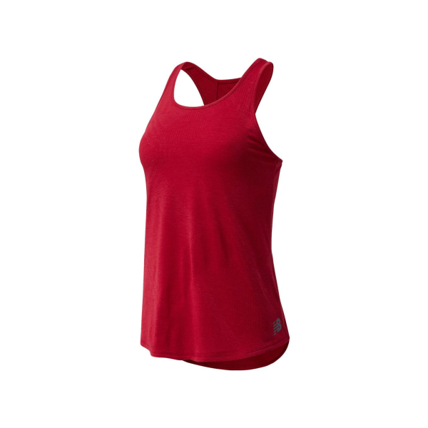 New Balance Speed Fuel Top Dames  Ncr Rood