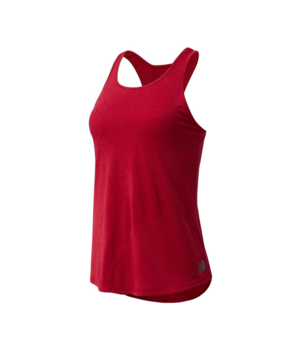 New Balance New Balance Speed Fuel Top Dames  Ncr Rood