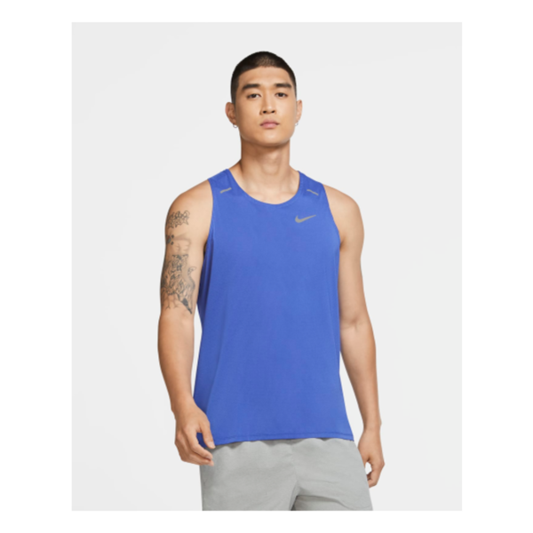 Nike Breathe Rise Singlet Heren