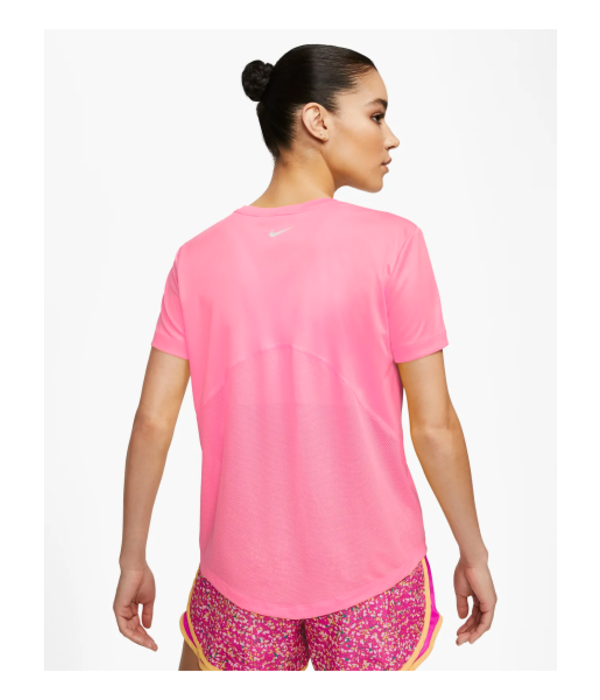 Nike Nike Miler Shirt Dames  607 Roze