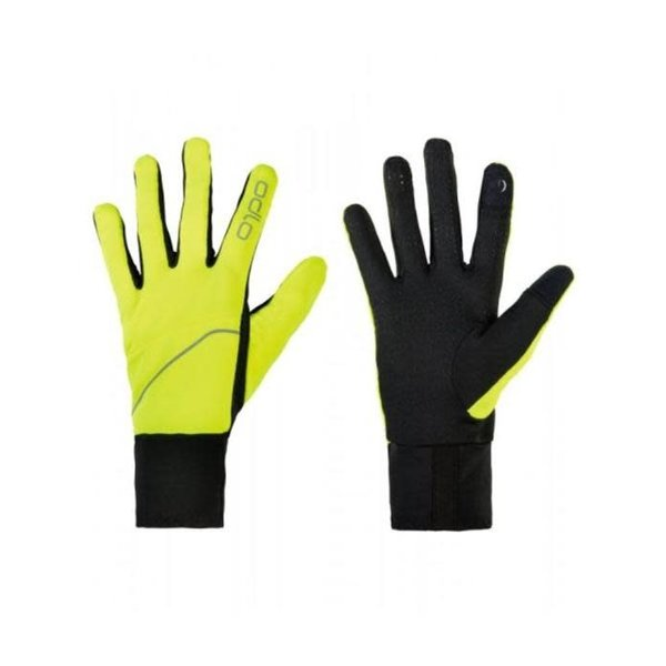 Odlo  Handschoenen Intensity Safety  50016 Zwart/Geel