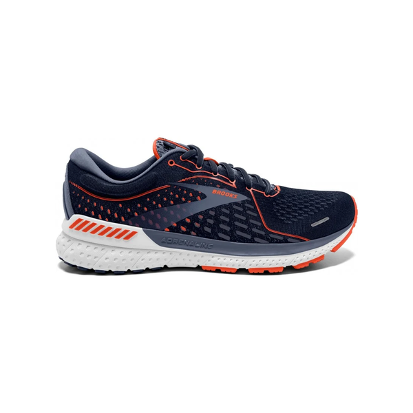 Brooks Adrenaline Gts 21 Heren Grijs