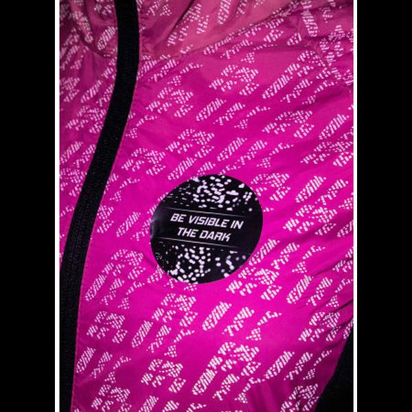 Rukka Reflectiejack Hardlopen Roze