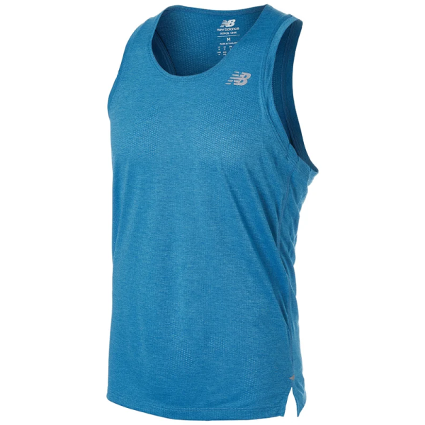 New Balance Impact Run Singlet Heren