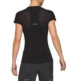 ASICS Asics Hardloopshirt V-hals Dames Zwart