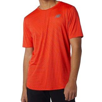 New Balance New Balance Shirt Q Speed Heren