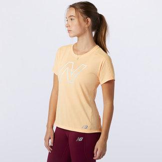 New Balance New Balance Shirt Print Dames