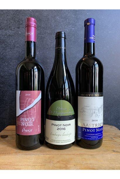 Pinot Noir box 3 flessen