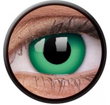 Emerald Green 14mm Crazy Colored Contact Lenses (1 year)