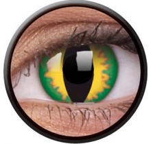 Green Dragon 14mm Crazy Colored Contact Lenses (1 year)