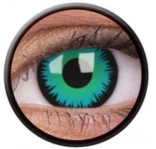 Green Werewolf 14mm Crazy Colored Contact Lenses (1 year)