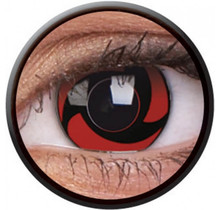 Mangekyu (Naruto) 14mm Crazy Colored Contact Lenses (1 year)
