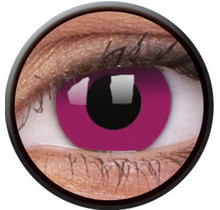 Purple 14mm Crazy Colored Contact Lenses (1 year)