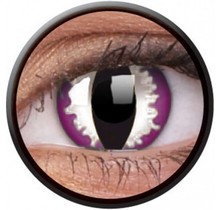 Purple Dragon 14mm Crazy Colored Contact Lenses (1 year)