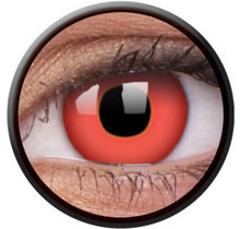 Red Devil 14mm Crazy Colored Contact Lenses (1 year)