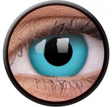 Sky Blue 14mm Crazy Colored Contact Lenses (1 year)
