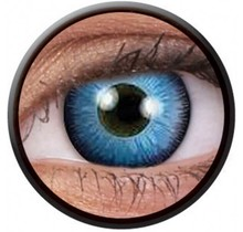 Space Blue 14mm Crazy Colored Contact Lenses (1 year)