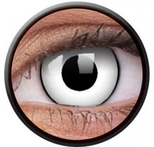 White Zombie 14mm Crazy Colored Contact Lenses (1 year)