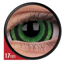 Green Goblin 17mm Crazy Colored Contact Lenses (1 year)