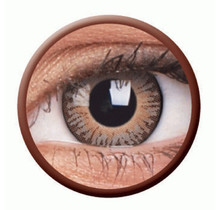 3Tones Brown 14mm Fashion Colored Contact Lenses (3 months)