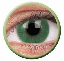 Basic Green 14mm Fashion Colored Contact Lenses (3 months)