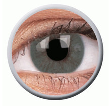 Basic Grey 14mm Fashion Colored Contact Lenses (3 months)